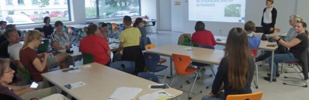 Unsere Zukunftswerkstatt: skribble.kms – Wir malen/bauen/gestalten/programmieren unsere ideale Schule von morgen.